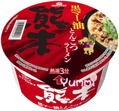 [日本九州風味拉麵]丸太熊本黑麻油豚骨碗麵 77g