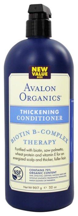 【彤彤小舖】Avalon Organic~湛藍精粹~生物素&B群 潤髮乳 32oz/946ml美國進口(AO-C011)