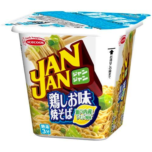 【ACECOOK】豬廚師JAN JAN炒麵-檸檬雞鹽味 102gJANJAN ???味??? ???風味