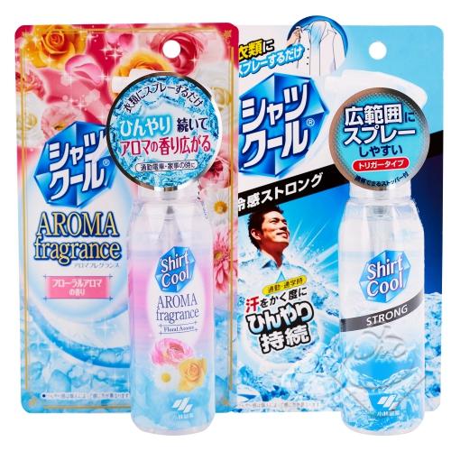 【日本】小林製藥 衣物涼感降溫清涼噴霧/除臭抗菌/瞬間涼感/降溫/消暑╭。☆║.Omo Omo go物趣.║☆。╮