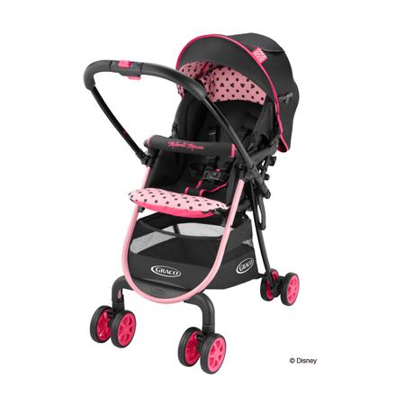 【悅兒樂婦幼用品?】Graco 超輕量型雙向嬰幼兒手推車 城市漫遊R 挑高版 (Minnie Mouse限定版)