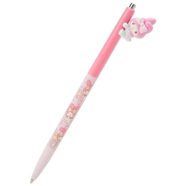 【真愛日本】16090100033 日本製原子筆-MM公仔擁抱粉   三麗鷗家族 Melody 美樂蒂  原子筆 文具用品 書寫