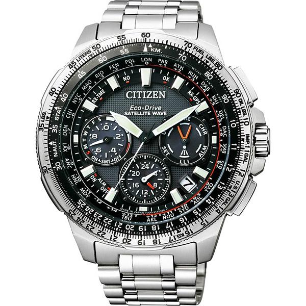 CITIZEN星辰CC9020-54E鈦金屬GPS衛星對時光動能腕錶/黑面47mm