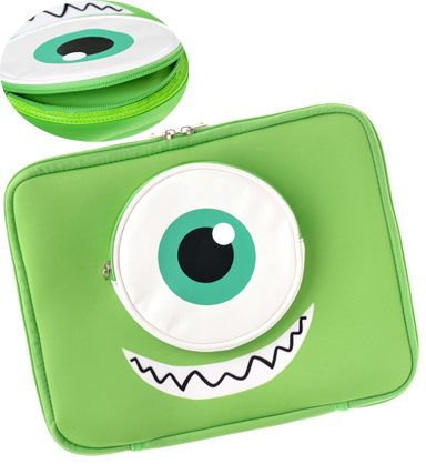 日本迪士尼商店專賣大眼仔毛怪iPad2保護套皮套現貨海渡