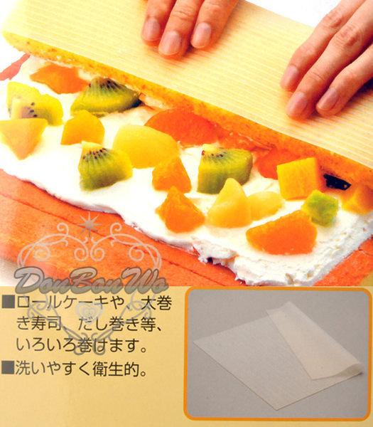 日本cakeland耐熱矽膠瑞士捲墊蛋糕捲壽司捲017370海渡