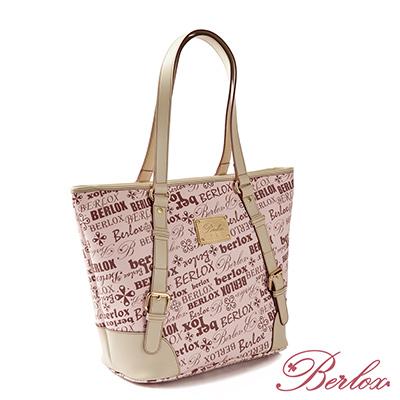 【魔法施】BERLOX 寶黎思 ★ PINK LADY可調整飾扣托特包 BLX-10202 ★ 超值免運加價購