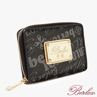 【魔法施】BERLOX 寶黎思 ★ BLACK LADY證件窗女用拉鍊零錢包 BLX-20103 ★ 超值免運加價購