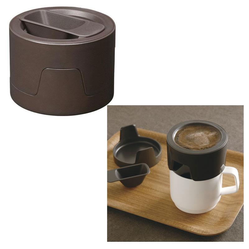 KINTO 一人份手沖咖啡濾杯 column coffee dripper 日本帶回 免耗材 褐色