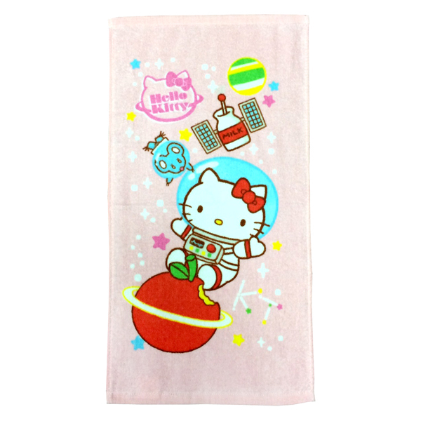 *卡通巾任2件85折**優惠促銷*太空系列-凱蒂貓童巾《康是美》