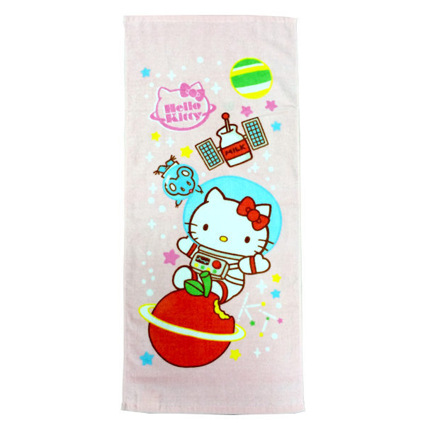 *卡通巾任2件85折**優惠促銷*太空系列-凱蒂貓毛巾《康是美》