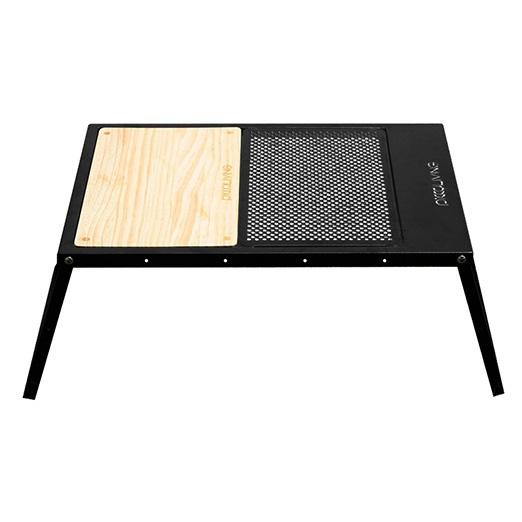 ├登山樂┤ 台灣PICCALIVING IRON CAMP FOLDING TABLE - CB PICCALIVING 鐵製露營折疊桌 功能變化款 星空黑#P-ICFT-CB