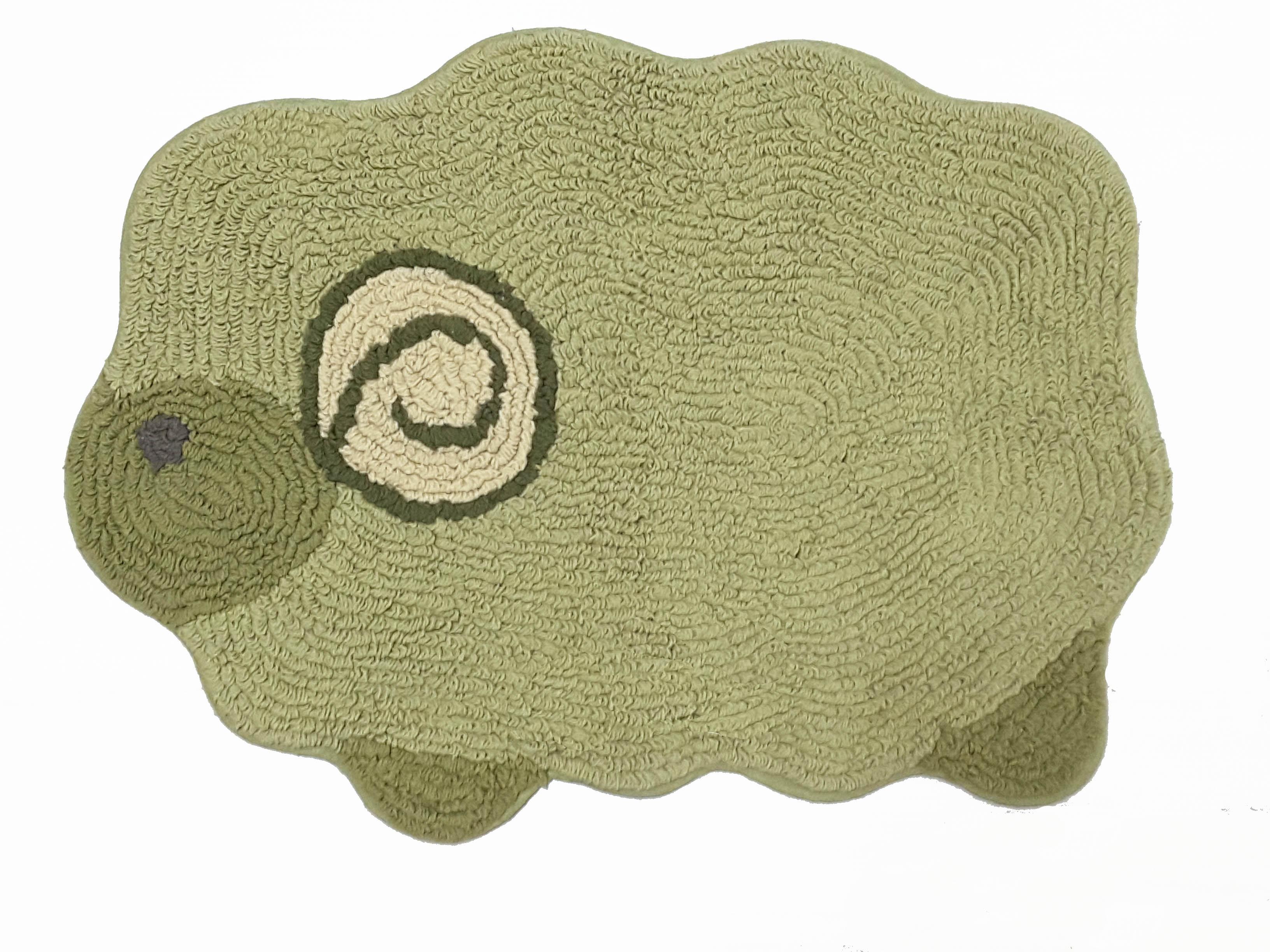 La maison生活小舖《繽紛馬卡龍抹茶綠綿羊腳踏墊》吸水防滑 柔順觸感 可愛造型 地墊/軟墊/腳踏墊/止滑墊/吸水墊/軟毛墊