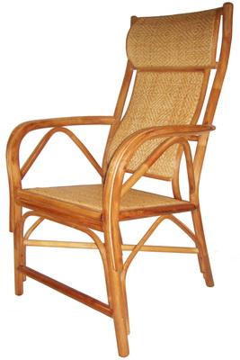 福樂雙護腰老人藤椅
