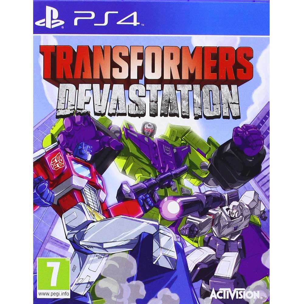 PS4 變形金剛:毀滅行動 英文歐版 Transformers Devastation