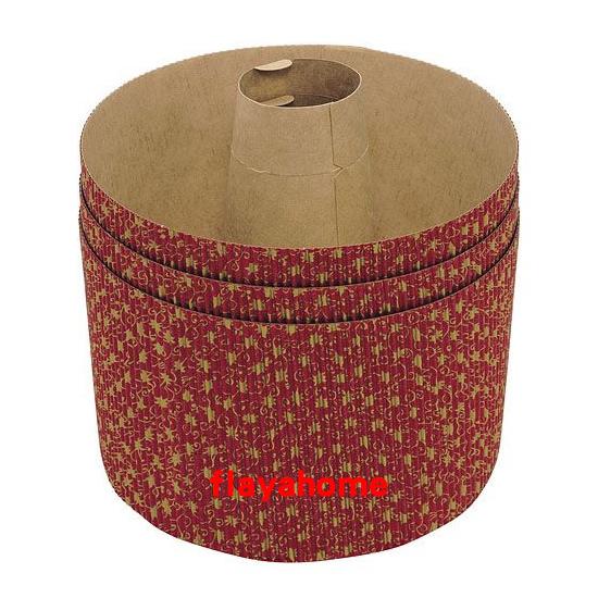 《富樂雅居》日本製 貝印KAI 戚風中空 蛋糕紙模 ( 3枚入 )