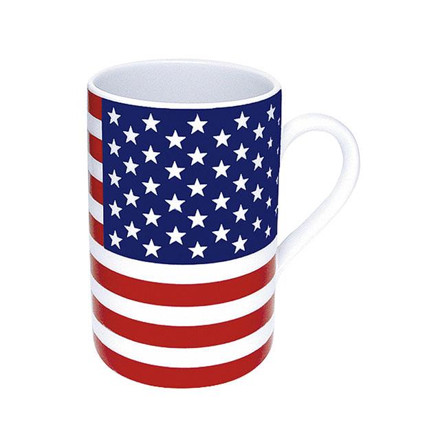 《富樂雅居》德國Konitz馬克杯-世界國旗 美國國旗杯