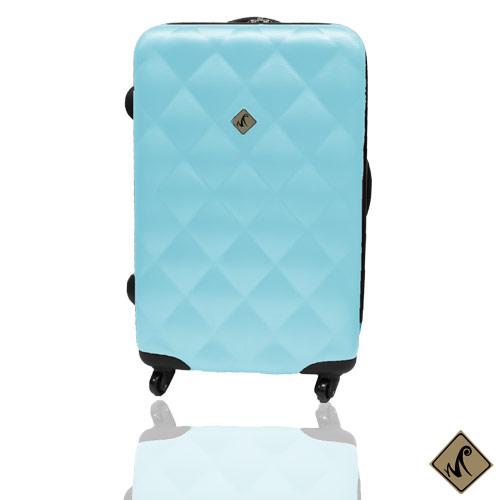 Miyoko俏皮菱格紋系列28吋輕硬殼旅行箱/行李箱