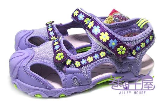 【巷子屋】光之美少女 美樂天使 女童專業護趾運動涼鞋 [47187] 紫 超值價$198