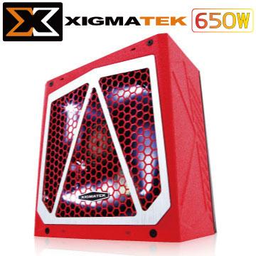 Xigmatek Vector 650W 80+ 銀牌 電源供應器