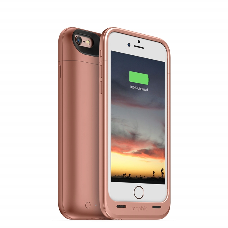 【迪特軍3C】mophie Juice Pack Air for iPhone 6/6S 背蓋電源(玫瑰金)