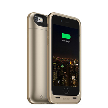 【迪特軍3C】mophie Juice Pack Plus for iPhone 6/6S 背蓋電源(金)