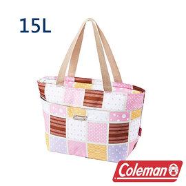 Coleman 保冷手提袋15L 桃紅 CM-27218 露營│登山│行動冰箱│保冰袋│野餐?