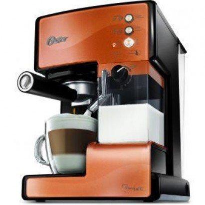 ◤贈原廠奶泡盒◢◤特A級福利品‧數量有限◢ 美國 OSTER 奶泡大師義式咖啡機 -銅橘色 BVSTEM6601