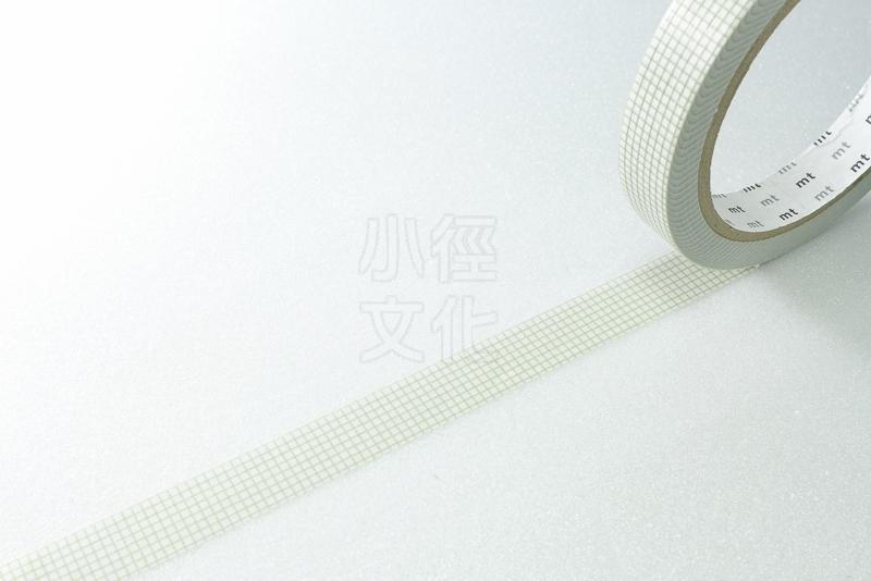 *小徑文化*日本和紙膠帶 mt Large Core ( 太芯 ) 方眼?灰 ( MT01L023 )
