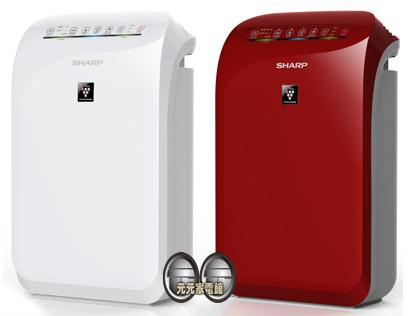 SHARP夏普自動除菌離子空氣清淨機FU-D50T-W/FU-D50T-R