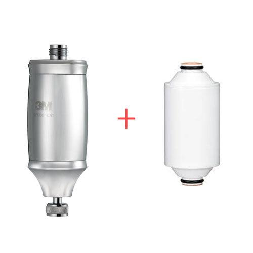 3M全效沐浴過濾器SFKC01-CN1+濾心特惠組【相當於一組(已含一個濾心)+一個濾心】