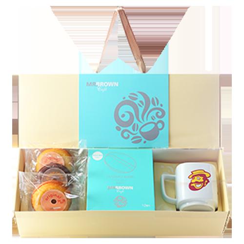 伯朗臻品禮盒-隨享甜甜圈版