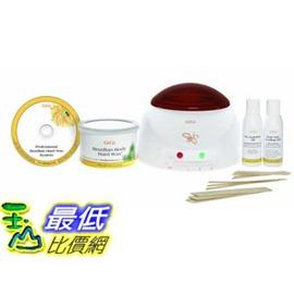 [宅配促銷到12月1日] Gigi Brazilian Kit14 Ounce蜜蠟 加熱器組 巴西硬蠟除毛技術 CC13