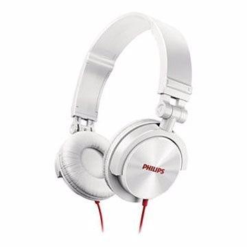 【迪特軍3C】PHILIPS 飛利浦 SHL3050 DJ款 可摺疊耳機 白色