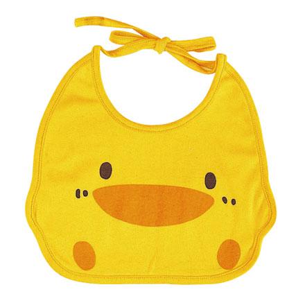 【悅兒樂婦幼用品?】Piyo 黃色小鴨 造型圍兜
