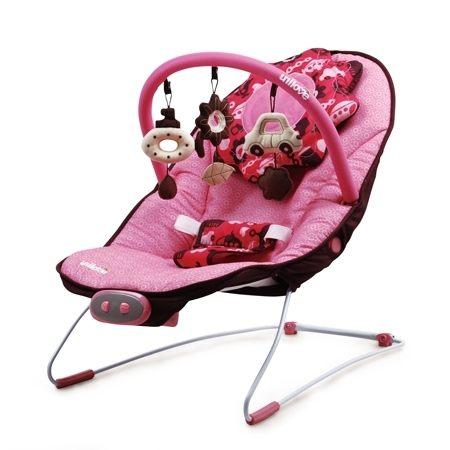 『121婦嬰用品館』unilove 寶寶安撫椅 躺椅 搖搖椅 - 粉紅