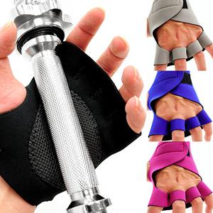 彈性SBR運動手套(健身手套短手套防護具.止滑手套防滑手套.半指手套露指手套.腳踏車自行車手套.推薦哪裡買)D017-02