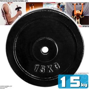 15KG傳統槓片(單片15公斤槓片.槓鈴片.啞鈴片.舉重量訓練.運動健身器材.推薦.哪裡買)C113-615