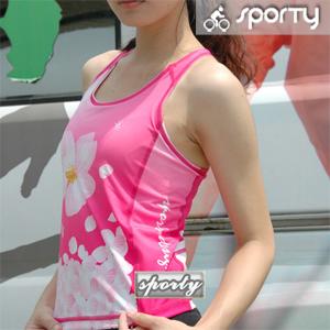【sporty】女性無袖緊身上衣.自行車.腳踏車.單車.小折.車衣.騎行服
