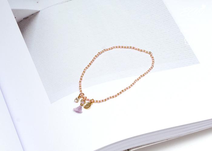 流蘇,雙鍊手鍊,韓國製手鍊,韓國飾品,手環,手鏈