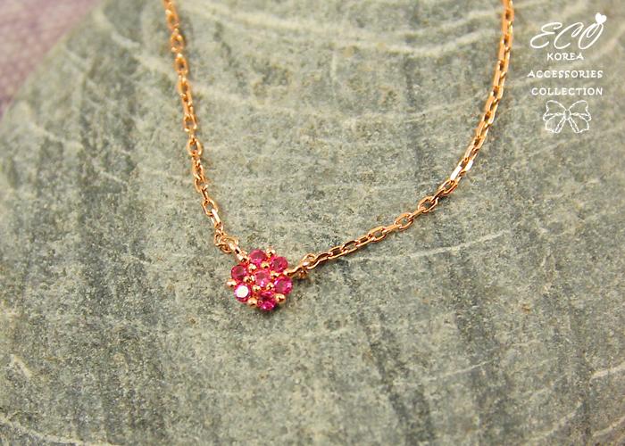 鎖骨項鍊,水鑽,玫瑰金,短項鍊,韓製,韓國,項鍊