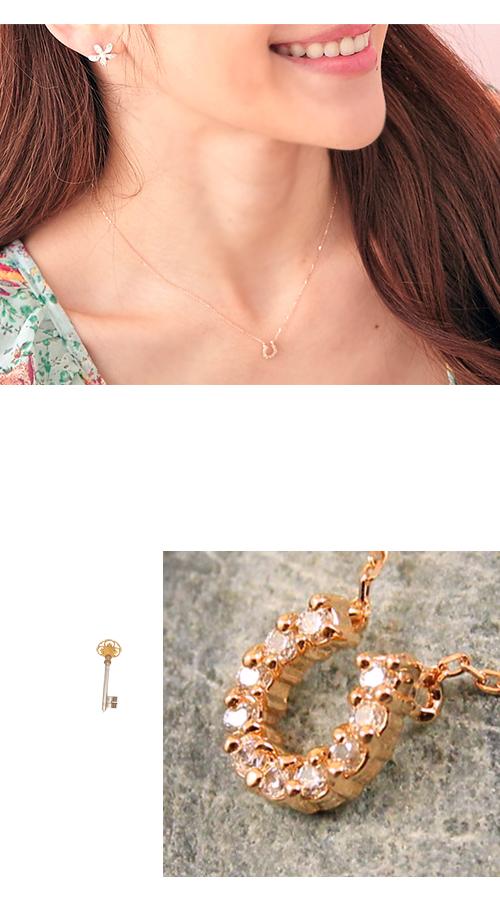 排鑽,水鑽,鎖骨項鍊,韓製,韓國,項鍊,U型,馬蹄型