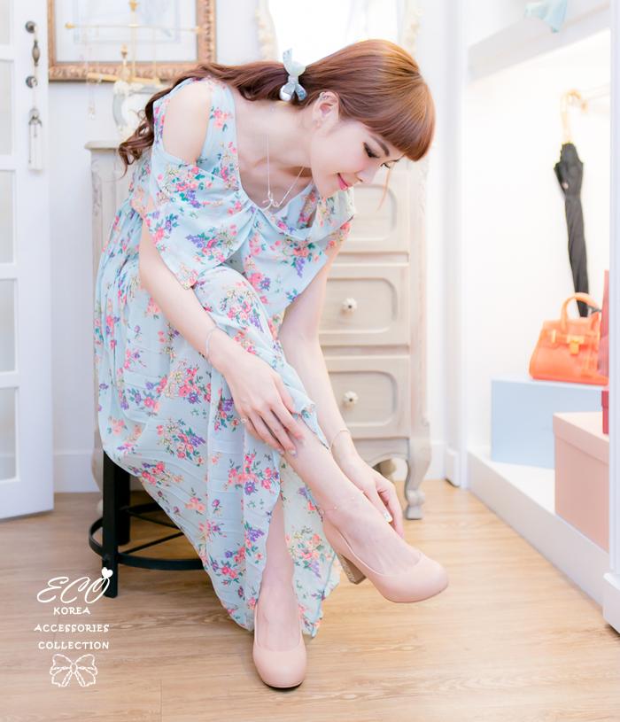愛莉絲夢遊仙境,愛莉絲,兔子先生,韓國製腳鍊,韓國飾品,腳鍊