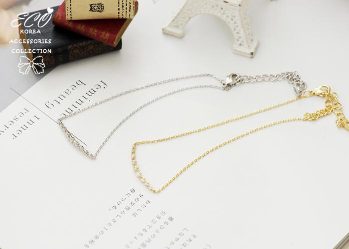 排鑽,水滴鑽,鎖,韓國製腳鍊,韓國飾品,腳鍊