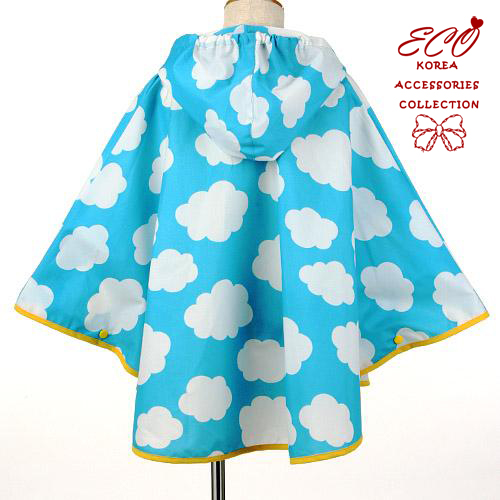 雲朵,雨衣,連身雨衣,日本進口,藍色,天空