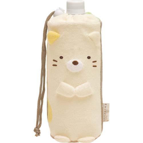 (預購)ECO安珂.日本進口小貓河童絨毛造型 水壺套/水壺袋【15-271】
