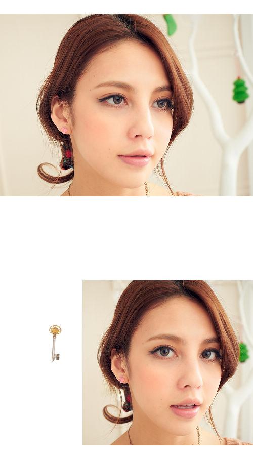 米奇,彩色,玩具,韓製,韓貨,耳環,韓國