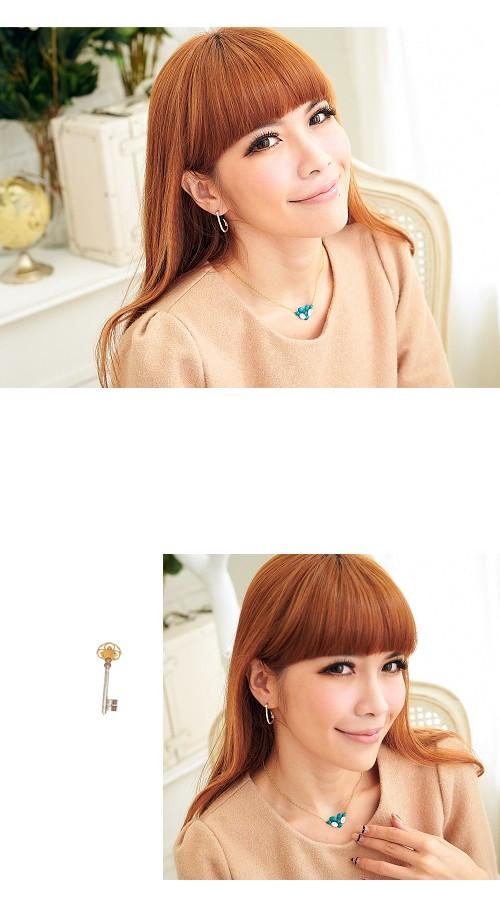 倒鉤,水鑽,橢圓,韓製,韓國,韓貨,耳環
