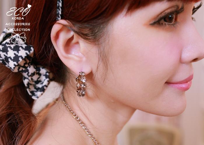 鑽,針式耳環,韓製,韓國,耳環,復古