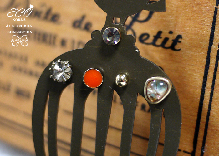 釉彩,針式耳環,貝殼感,韓製,韓國,耳環,鑽,銅珠