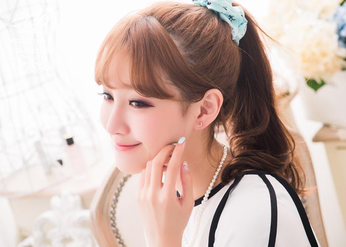 925純銀,純銀耳針,星星,流星,雙星,耳環,韓製,韓國,耳環